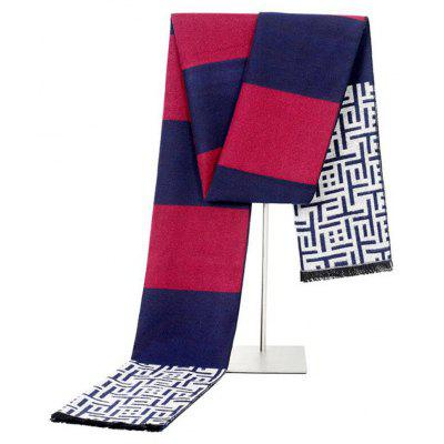 Fashion Design Casual Scarves Winter Men's Scarf Luxury Brand High Quality Warm Scarves Men