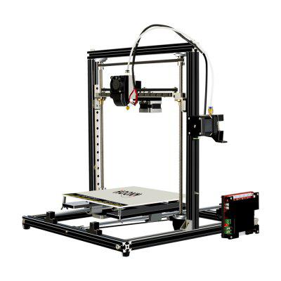 HOONY H6 Most Assembled Full Aluminum Frame 3D Printer with  Print Size 210*210*250mm