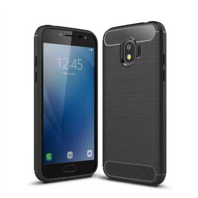 Cover Case for Samsung Galaxy J2 Pro 2018 Shockproof Carbon Fiber TPU Drawing Material PhoneCover Case for Samsung Galaxy J2 Pro 2018 Shockproof Carbon Fiber TPU Drawing Material Phone<br><br>Features: Back Cover, Button Protector, Anti-knock<br>Material: TPU<br>Package Contents: 1 x Phone Case<br>Package size (L x W x H): 20.00 x 10.00 x 1.50 cm / 7.87 x 3.94 x 0.59 inches<br>Package weight: 0.0350 kg<br>Product weight: 0.0250 kg<br>Style: Solid Color