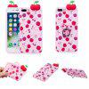 Coque pour iPhone 7 Plus / 8 Plus TPU Doll Series Soft Shell - ROUGE ROSE