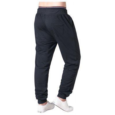 New MenS Print Drawstring Elasticon PantsMens Pants<br>New MenS Print Drawstring Elasticon Pants<br><br>Fit Type: Straight<br>Front Style: Flat<br>Material: Polyester<br>Package Contents: 1xpants<br>Pant Length: Long Pants<br>Pant Style: Straight<br>Style: Active<br>Waist Type: Mid<br>Weight: 0.3000kg<br>With Belt: Yes
