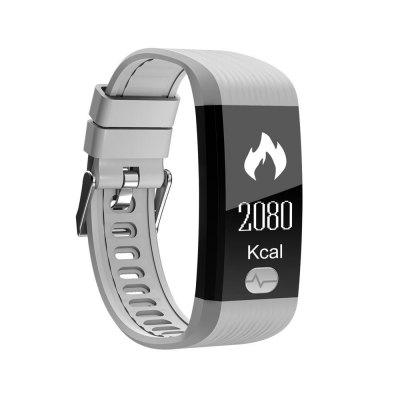 Fitness Tracker, ECG PPG Heart Rate Monitor with More Accurate HR Smart Wristband Blood Pressure Bracelet Pedometer ActSmart Watches<br>Fitness Tracker, ECG PPG Heart Rate Monitor with More Accurate HR Smart Wristband Blood Pressure Bracelet Pedometer Act<br><br>Available Color: Black,Blue,Red,White<br>Band material: TPU<br>Battery  Capacity: 80<br>Bluetooth Version: Bluetooth 4.0<br>Case material: PC<br>Charging Time: About 2hours<br>Compatability: Android4.4 and above&amp;iOS 8.0 and above<br>Compatible OS: Android, IOS<br>Functions: Time, Steps counting, SMS Reminding, Sleep management, Sitting posture reminder, Pedometer, Message, Measurement of heart rate, Incoming calls show, Distance recording, Date, Calories burned measuring, Call reminder, Avoid phone loss, Alarm Clock<br>Language: English,French,German,Japanese,Russian,Spanish<br>Notification type: WhatsApp, Wechat, Twitter, Facebook<br>Operating mode: Touch Screen<br>Package Contents: 1 x Bracelet, 1 x User Manual, 1 x USB Charging<br>Package size (L x W x H): 10.00 x 10.00 x 8.00 cm / 3.94 x 3.94 x 3.15 inches<br>Package weight: 0.1400 kg<br>People: Female table,Male table<br>Product weight: 0.0200 kg<br>Screen type: OLED<br>Shape of the dial: Rectangle
