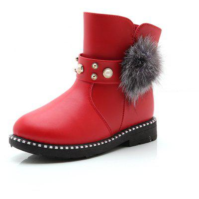 Winter Fur Ankle Autumn Kids Martin Boots