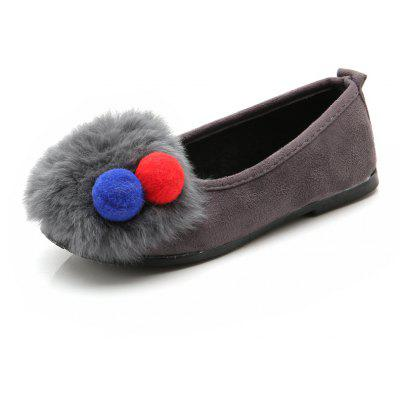 Autumn and Winter New Girls Princess Cotton Shoes