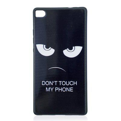 Phone Case for Huawei P8 Eyes Fashion Cartoon Relief Soft Silicone TPU Cover Cases Protection Phone Bag