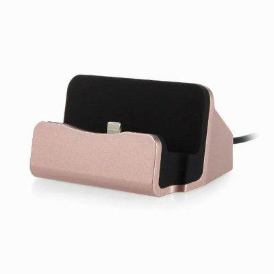 Charger Dock Stand Desktop Stand Station Cradle Fast Charging for iPhone 5/SE/6/6S/7/7Plus/8/8Plus/X