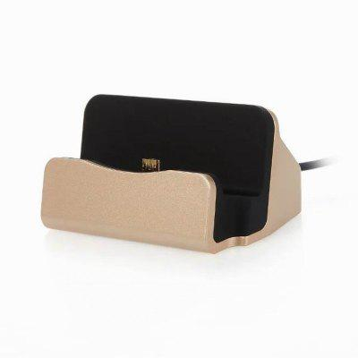 Mirco USB Desktop Charging Dock Charge Cradle Desk Charger Station Stand para Samsung / Huawei / Xiaomi / LG / HTC Android Phone