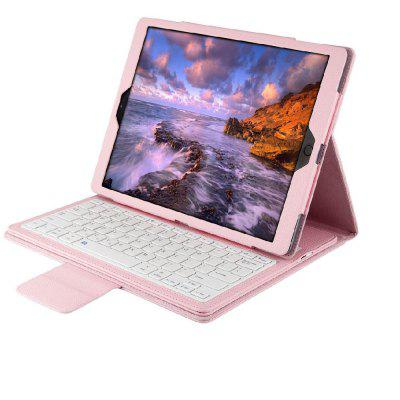 Detachable Wireless Bluetooth Keyboard for iPad 10.5 inch 360 Degree Swivel Leather Case Stand Cover