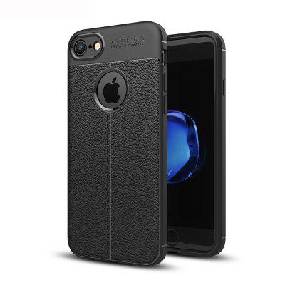 Luxury Soft Silicone Carbon Fiber Full Protection Back Cover Case For iPhone 7/8 Phone Bag