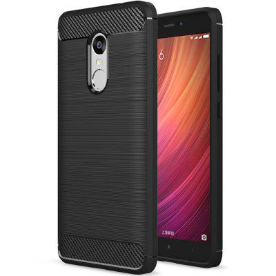 Couverture Souple en Fibre de Carbone TPU pour Xiaomi Redmi Note 4 Version Globale / Redmi Note 4X