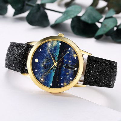 GAIETY G369 Women Watch Night Sky Dial Leather Band Quartz WatchesWomens Watches<br>GAIETY G369 Women Watch Night Sky Dial Leather Band Quartz Watches<br><br>Band material: PU Leather<br>Band size: 24x1.8 cm<br>Case material: Metal<br>Clasp type: Pin buckle<br>Dial size: 4x4x0.7 cm<br>Display type: Analog<br>Movement type: Quartz watch<br>Package Contents: 1 x Watch<br>Package size (L x W x H): 24.50 x 4.50 x 1.00 cm / 9.65 x 1.77 x 0.39 inches<br>Package weight: 0.0280 kg<br>Product size (L x W x H): 24.00 x 4.00 x 0.70 cm / 9.45 x 1.57 x 0.28 inches<br>Product weight: 0.0260 kg<br>Shape of the dial: Round<br>Watch mirror: Mineral glass<br>Watch style: Jewellery, Childlike, Lovely, Classic, Fashion, Casual<br>Watches categories: Women,Female table<br>Water resistance: No