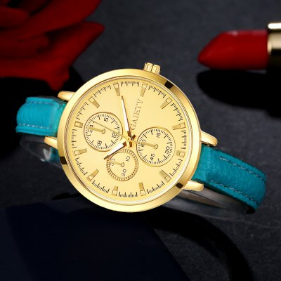 GAIETY G327 Women Fashion Leather WatchWomens Watches<br>GAIETY G327 Women Fashion Leather Watch<br><br>Band material: PU<br>Band size: 21.5 x 1 CM<br>Case material: Metal<br>Clasp type: Pin buckle<br>Dial size: 3.5 x 3.5 x 0.7 CM<br>Display type: Analog<br>Movement type: Quartz watch<br>Package Contents: 1 x Watch<br>Package size (L x W x H): 25.00 x 4.50 x 1.00 cm / 9.84 x 1.77 x 0.39 inches<br>Package weight: 0.0300 kg<br>Product size (L x W x H): 21.50 x 3.50 x 0.70 cm / 8.46 x 1.38 x 0.28 inches<br>Product weight: 0.0240 kg<br>Shape of the dial: Round<br>Watch mirror: Mineral glass<br>Watch style: Classic, Childlike, Fashion, Casual<br>Watches categories: Women,Female table<br>Water resistance: No