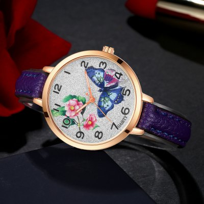 GAIETY G352 Women Flowers Face Leather Band Quartz WatchesWomens Watches<br>GAIETY G352 Women Flowers Face Leather Band Quartz Watches<br><br>Band material: PU<br>Band size: 21.5 x 1 CM<br>Case material: Metal<br>Clasp type: Pin buckle<br>Dial size: 3.5 x 3.5 x 0.7 CM<br>Display type: Analog<br>Movement type: Quartz watch<br>Package Contents: 1 x Watch<br>Package size (L x W x H): 24.00 x 4.00 x 1.00 cm / 9.45 x 1.57 x 0.39 inches<br>Package weight: 0.0260 kg<br>Product size (L x W x H): 21.50 x 3.50 x 0.70 cm / 8.46 x 1.38 x 0.28 inches<br>Product weight: 0.0240 kg<br>Shape of the dial: Round<br>Watch mirror: Mineral glass<br>Watch style: Classic, Childlike, Fashion, Casual<br>Watches categories: Women,Female table<br>Water resistance: No