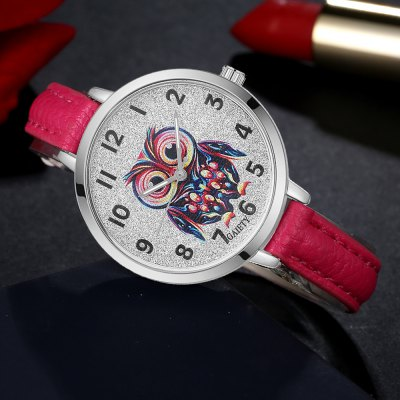 GAIETY G350 Women Watch Owl Dial Leather Band Quartz WatchesWomens Watches<br>GAIETY G350 Women Watch Owl Dial Leather Band Quartz Watches<br><br>Band material: PU<br>Band size: 21.5 x 1 CM<br>Case material: Metal<br>Clasp type: Pin buckle<br>Dial size: 3.5 x 3.5 x 0.7 CM<br>Display type: Analog<br>Movement type: Quartz watch<br>Package Contents: 1 x Watch<br>Package size (L x W x H): 24.00 x 4.00 x 1.00 cm / 9.45 x 1.57 x 0.39 inches<br>Package weight: 0.0260 kg<br>Product size (L x W x H): 21.50 x 3.50 x 0.70 cm / 8.46 x 1.38 x 0.28 inches<br>Product weight: 0.0240 kg<br>Shape of the dial: Round<br>Watch mirror: Mineral glass<br>Watch style: Classic, Childlike, Fashion, Casual<br>Watches categories: Women,Female table<br>Water resistance: No