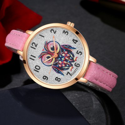 GAIETY G349 Women Owl Face Rose Gold Tone Bezel Leather Band WatchWomens Watches<br>GAIETY G349 Women Owl Face Rose Gold Tone Bezel Leather Band Watch<br><br>Band material: PU<br>Band size: 21.5 x 1 CM<br>Case material: Metal<br>Clasp type: Pin buckle<br>Dial size: 3.5 x 3.5 x 0.7 CM<br>Display type: Analog<br>Movement type: Quartz watch<br>Package Contents: 1 x Watch<br>Package size (L x W x H): 24.00 x 4.00 x 1.00 cm / 9.45 x 1.57 x 0.39 inches<br>Package weight: 0.0260 kg<br>Product size (L x W x H): 21.50 x 3.50 x 0.70 cm / 8.46 x 1.38 x 0.28 inches<br>Product weight: 0.0240 kg<br>Shape of the dial: Round<br>Watch mirror: Mineral glass<br>Watch style: Classic, Childlike, Fashion, Casual<br>Watches categories: Women,Female table<br>Water resistance: No