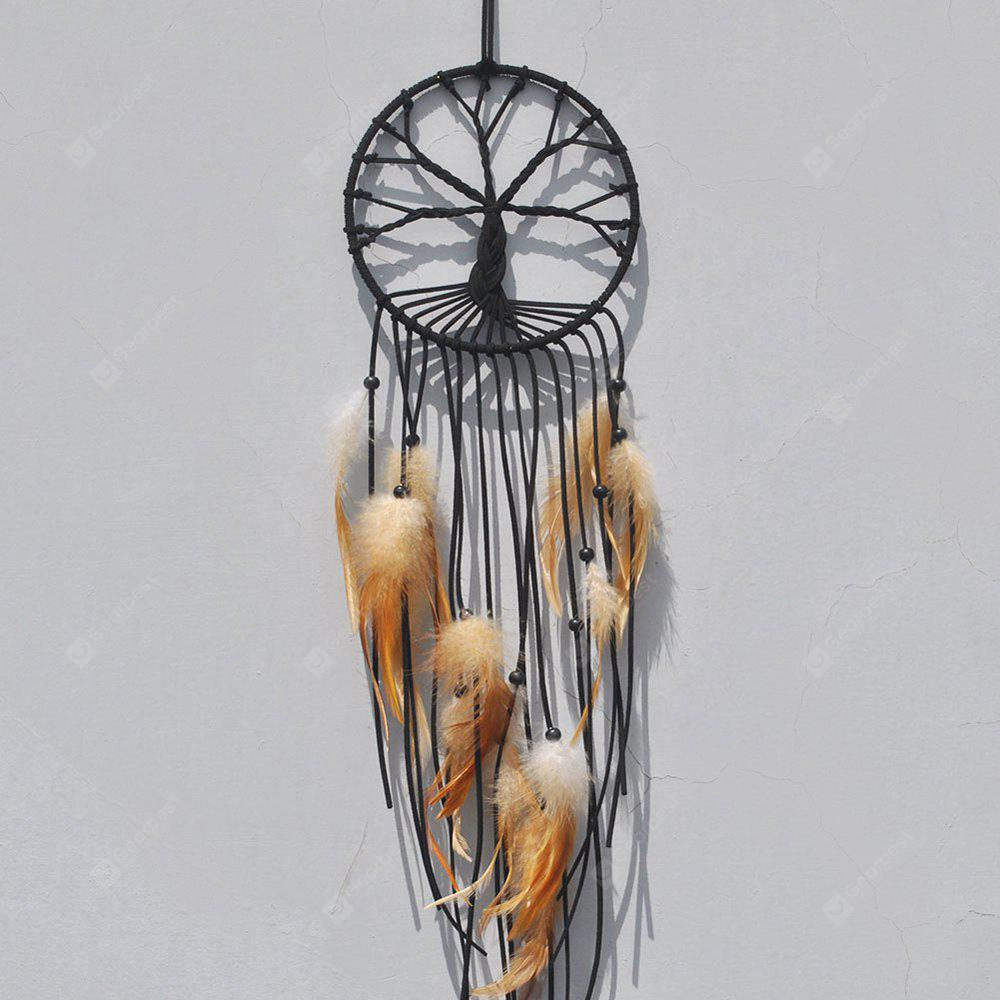 Regalo India Albero della vita Dreamcatcher Wind Chimes Parete Hanging Pendant Decor Dream Catcher Regalo