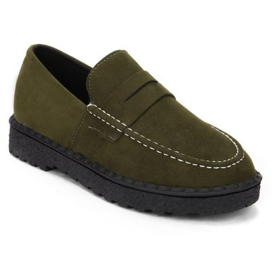 Suede Top and Casual Flat Women'S Loafers