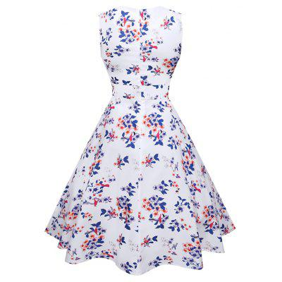 Fashion  Printed Sleeveless DressWomens Dresses<br>Fashion  Printed Sleeveless Dress<br><br>Dresses Length: Knee-Length<br>Elasticity: Nonelastic<br>Fabric Type: Broadcloth<br>Material: Polyester<br>Neckline: Sweetheart Neck<br>Package Contents: 1xDress<br>Pattern Type: Floral<br>Season: Summer<br>Silhouette: Ball Gown<br>Sleeve Length: Sleeveless<br>Style: Fashion<br>T3099039: None<br>Weight: 0.3000kg<br>With Belt: No