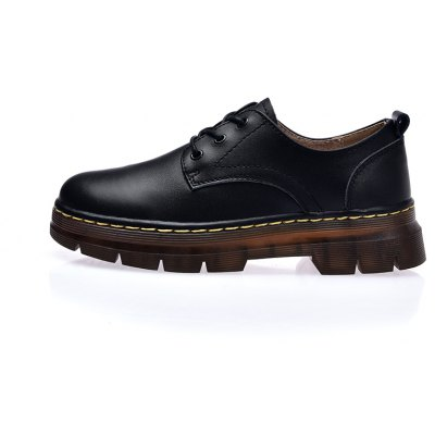 Leather Rubber Sole Muffin Thick Bottom Women ShoesWomens Casual Shoes<br>Leather Rubber Sole Muffin Thick Bottom Women Shoes<br><br>Available Size: 35 36 37 38 39 40<br>Closure Type: Lace-Up<br>Embellishment: Fur<br>Gender: For Women<br>Outsole Material: Rubber<br>Package Contents: 1xshoes(pair)<br>Pattern Type: Solid<br>Season: Summer, Winter, Spring/Fall<br>Toe Shape: Round Toe<br>Toe Style: Closed Toe<br>Upper Material: Cow Split<br>Weight: 1.6896kg