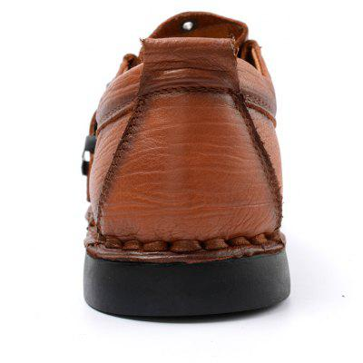 Autumn and Winter Leather Rubber Soled Business Casual ShoesMen's Oxford<br>Autumn and Winter Leather Rubber Soled Business Casual Shoes<br><br>Available Size: 38 39 40 41 42 43 44<br>Closure Type: Hook / Loop<br>Embellishment: Fur<br>Gender: For Men<br>Outsole Material: Rubber<br>Package Contents: 1xshoes(pair)<br>Pattern Type: Solid<br>Season: Summer, Winter, Spring/Fall<br>Toe Shape: Round Toe<br>Toe Style: Closed Toe<br>Upper Material: Full Grain Leather<br>Weight: 1.6896kg