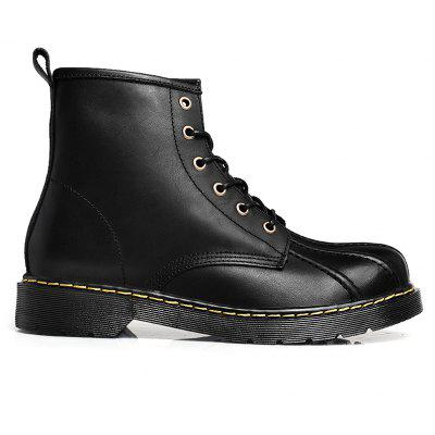 Cowhide Shell Rubber Bottom Martin BootsMens Boots<br>Cowhide Shell Rubber Bottom Martin Boots<br><br>Available Size: 38 39 40 41 42 43 44<br>Closure Type: Lace-Up<br>Embellishment: Fur<br>Gender: For Men<br>Outsole Material: Rubber<br>Package Contents: 1xshoes(pair)<br>Pattern Type: Solid<br>Season: Summer, Winter, Spring/Fall<br>Toe Shape: Round Toe<br>Toe Style: Closed Toe<br>Upper Material: Full Grain Leather<br>Weight: 1.6896kg
