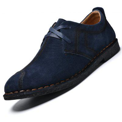 Four Seasons Leather Rubber Bottom Hand Stitching Leisure Single ShoesCasual Shoes<br>Four Seasons Leather Rubber Bottom Hand Stitching Leisure Single Shoes<br><br>Available Size: 38 39 40 41 42 43 44<br>Closure Type: Lace-Up<br>Embellishment: Fur<br>Gender: For Men<br>Outsole Material: Rubber<br>Package Contents: 1xshoes(pair)<br>Pattern Type: Solid<br>Season: Summer, Winter, Spring/Fall<br>Toe Shape: Round Toe<br>Toe Style: Closed Toe<br>Upper Material: Pigskin<br>Weight: 1.6896kg