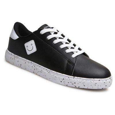 Four Super Fiber Leather Casual Shoes with Rubber Soles Couple 601