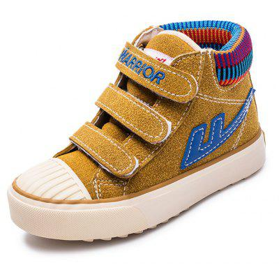 Warrior Children'S Cotton Shoes New Style Add Wool Warm Winter Shoes