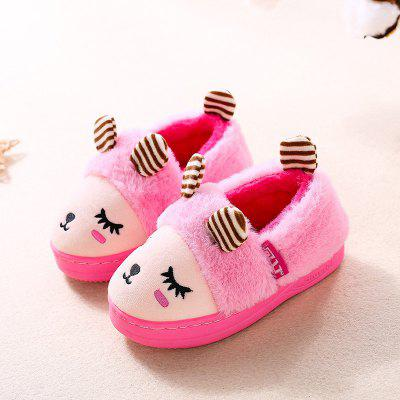 Warrior The New Winter Warm Cotton Mop Child Back Boy Cotton Mop Girl Cartoon Leisure Shoes машинки азбука тойс мотоциклист