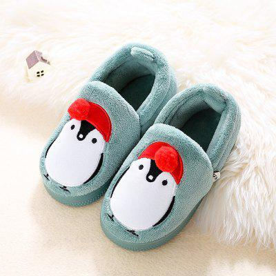 Warrior Children Cotton Slippers Girls Winter New Boy Baby Lovely Warm Home Leisure new pattern children leisure time autumn clothing children s garment two pieces garment suit dress motion sweater kids set