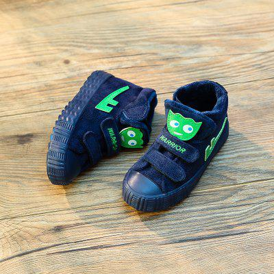 Warrior Children'S Cotton Shoes Winter Shoes New Style Add Wool Warm