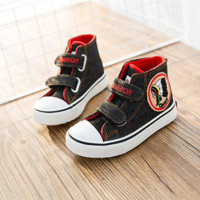 Warrior New Style Children'S Cotton Shoes Add Wool Warm Winter Shoes
