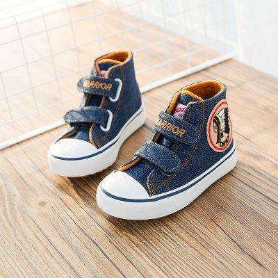 Warrior New Style Children'S Cotton Shoes Add Wool Warm Winter Shoes osco factory direct natural cow leather winter men warm casual shoes warmest wool casusl style men winter oxford shoes a3534