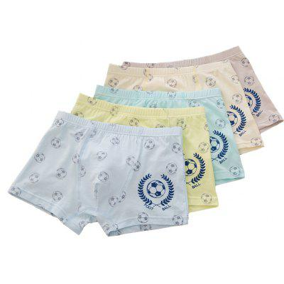 8831 Baby Boy's Panty Giraffe Cartoon Printed Underwear Pure Cotton Organic Cotton Panties 5pcs Underwear