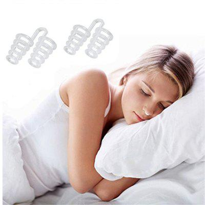 Set of 2 Premium Anti-Snoring Nose Vents Soft Silicon Stop Snoring Device Night