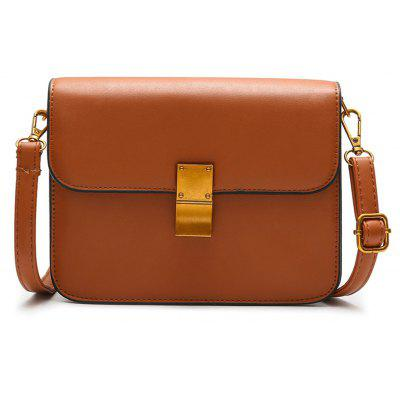 Fashion Buckle Shoulder Retro Messenger Female Small Square Package