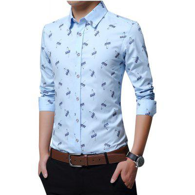 Spring Business Leisure Cotton and Fashion Print Long Sleeved ShirtMens Shirts<br>Spring Business Leisure Cotton and Fashion Print Long Sleeved Shirt<br><br>Collar: Turn-down Collar<br>Material: Cotton<br>Package Contents: 1xshirt<br>Shirts Type: Casual Shirts<br>Sleeve Length: Full<br>Weight: 0.5000kg
