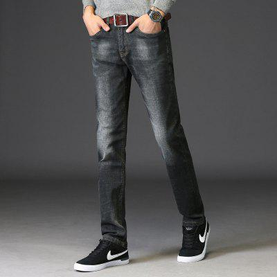 Men Straight Fit Stretch Denim Jeans Large Size Trousers Casual Cowboys Man JeansMens Pants<br>Men Straight Fit Stretch Denim Jeans Large Size Trousers Casual Cowboys Man Jeans<br><br>Closure Type: Zipper Fly<br>Fabric Type: Canvas<br>Fit Type: Straight<br>Material: Cotton<br>Package Contents: 1xJeans<br>Pant Length: Long Pants<br>Pant Style: Straight<br>Waist Type: Mid<br>Wash: Light<br>Weight: 0.3500kg