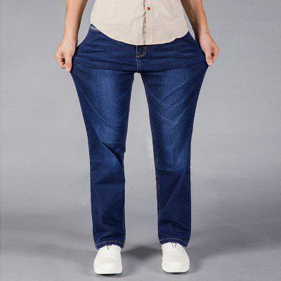 Loose Fit Stretch Denim Pants Plus Size Casual Cowboys JeansMens Pants<br>Loose Fit Stretch Denim Pants Plus Size Casual Cowboys Jeans<br><br>Closure Type: Zipper Fly<br>Fabric Type: Canvas<br>Fit Type: Loose<br>Material: Cotton<br>Package Contents: 1xJeans<br>Pant Length: Long Pants<br>Pant Style: Wide Leg Pants<br>Waist Type: Mid<br>Wash: Light<br>Weight: 0.4000kg