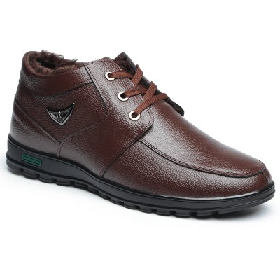New Winter Respiravel Warm Business Casual Shoes