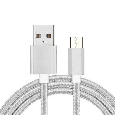 Nylon Braided 1M Micro USB Charging Cable for Android