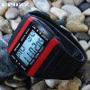 EPOZZ 1301 Dual Display Watch 50M Waterproof Alarm Clock LED Men Watch - BLACK&RED