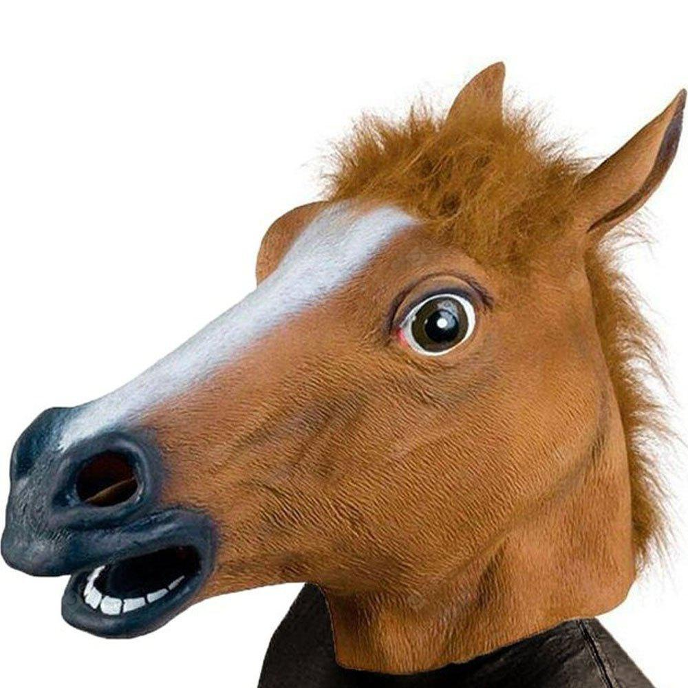 Party Látex Animal Horse Head Mask Fantastic Whimsey Costume Party Decoration