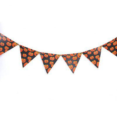 Halloween Triangle Flag Party Scene Bar Devil Festival Decoration Hanging Decor for Halloween