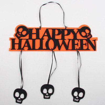 Creative Halloween Garland Banner Props for Ghost Hanging Halloween Party Decoration Party Event Decor