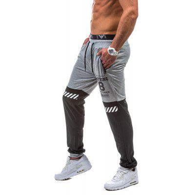 MenS Casual Color Matching Pnats Fashion Pocket Zipper Design Sports TrousersMens Pants<br>MenS Casual Color Matching Pnats Fashion Pocket Zipper Design Sports Trousers<br><br>Closure Type: Elastic Waist<br>Elasticity: Elastic<br>Fabric Type: Broadcloth<br>Fit Type: Loose<br>Length: Normal<br>Material: Cotton, Polyester<br>Package Contents: 1xPants<br>Package size (L x W x H): 1.00 x 1.00 x 1.00 cm / 0.39 x 0.39 x 0.39 inches<br>Package weight: 0.3000 kg<br>Pant Style: Pencil Pants<br>Pants: None<br>Pattern Type: Print<br>Style: Fashion<br>Thickness: Standard<br>Waist Type: Mid