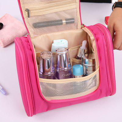 Large Capacity Waterproof Makeup Storage BagStorage Bags<br>Large Capacity Waterproof Makeup Storage Bag<br><br>Functions: Bathroom, Bedroom<br>Materials: Polyester<br>Package Contents: 1 x Bag<br>Package Size(L x W x H): 25.00 x 26.00 x 6.00 cm / 9.84 x 10.24 x 2.36 inches<br>Package weight: 0.2600 kg<br>Product Size(L x W x H): 24.00 x 25.00 x 10.00 cm / 9.45 x 9.84 x 3.94 inches<br>Product weight: 0.2500 kg<br>Types: Storage Bags