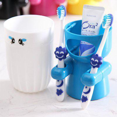 Creative and Lovely Cartoon Toothbrush Holder