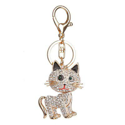 Fashion Paneling Cute Kitty Key Chain LadyS HandbagHome Gadgets<br>Fashion Paneling Cute Kitty Key Chain LadyS Handbag<br><br>Material: Metal<br>Package Contents: 1 x Key Chain<br>Package Quantity: 1<br>Package size (L x W x H): 12.00 x 6.00 x 6.00 cm / 4.72 x 2.36 x 2.36 inches<br>Package weight: 0.1000 kg<br>Product size (L x W x H): 11.00 x 4.50 x 5.50 cm / 4.33 x 1.77 x 2.17 inches<br>Product weight: 0.0400 kg