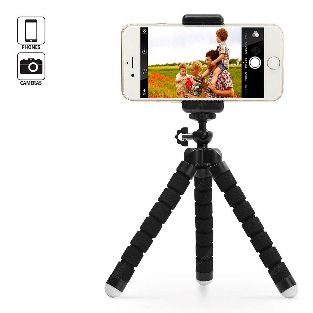 Portable And Adjustable Tripod Stand Holder